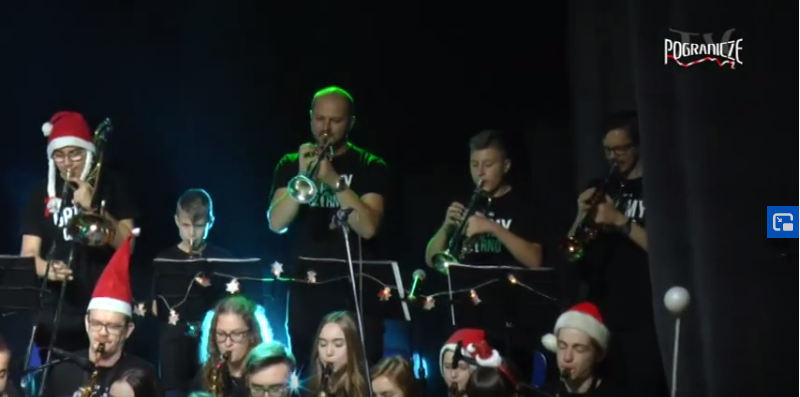 Big Band Gramy na czarno - All I want for Christmas is You